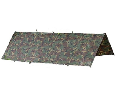 Camouflage Tarp Basher Forest Army Surplus Military