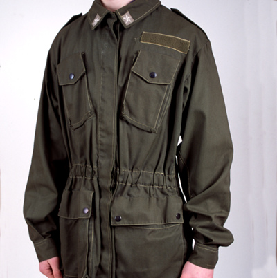Italian Army Olive Green Combat Jacket Forest Army