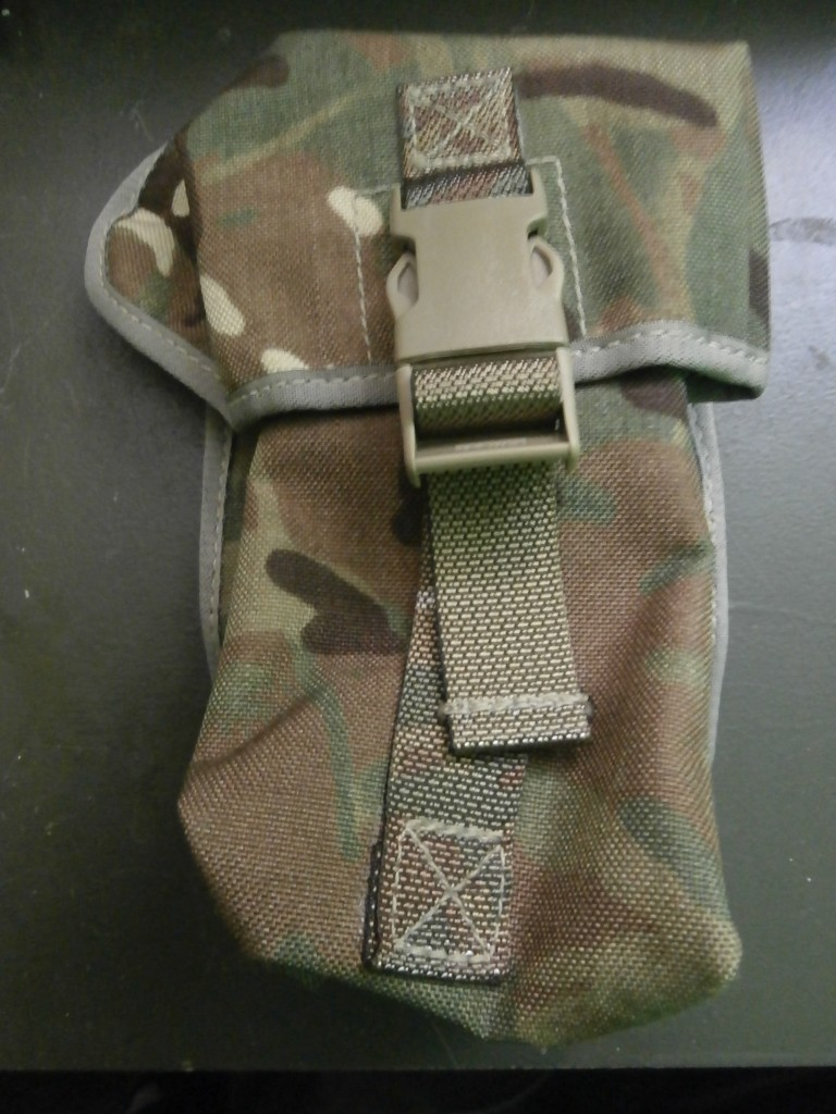 British Army Mtp Osprey Molle Pouch 100 Round Lmg Forest