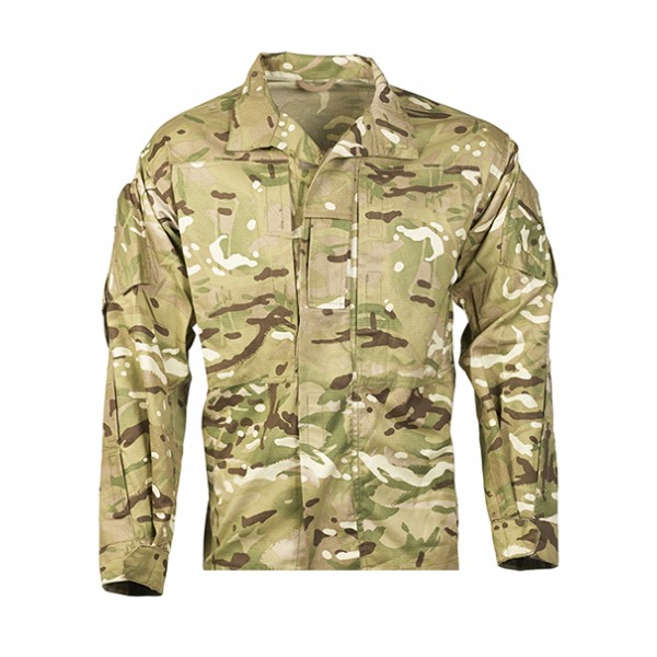 British Army Camouflage Jacket Shirt Mtp Pcs Forest Army