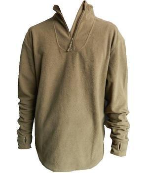 British Army Pcs Lightweight Fleece Field Shirt Forest