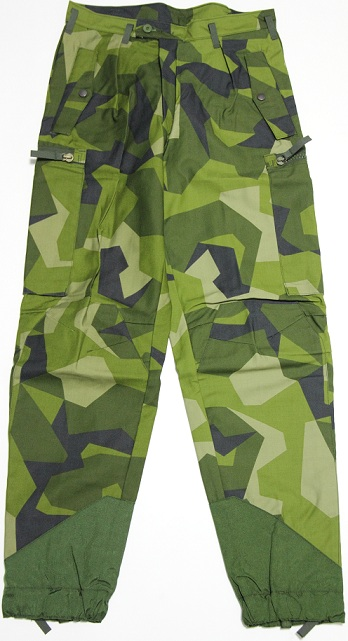 Swedish Army M90 Camouflage Trousers Forest Army Surplus
