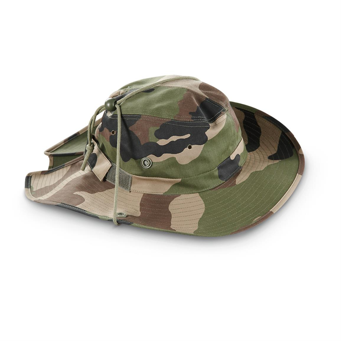 French Cce Army Camouflage Jungle Hat Forest Army