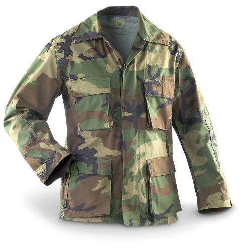us army woodland Camouflage shirt / jacket - Forest Army ...