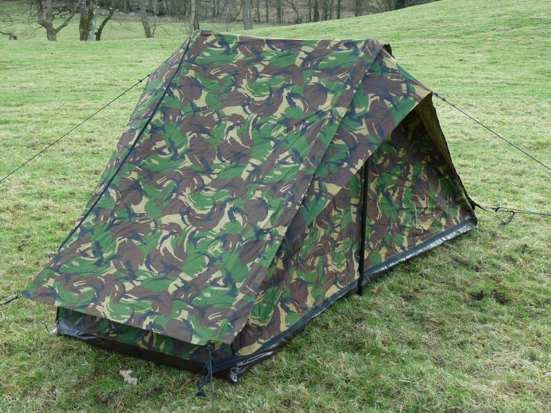 Dutch Army Dpm 2 Man Tent & Dutch Army Dpm 2 Man Tent » Forest Army Surplus - Military ...