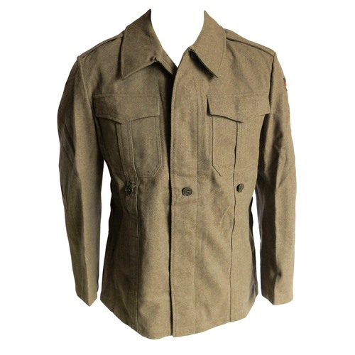 German Army Wool Jacket Forest Army Surplus Military