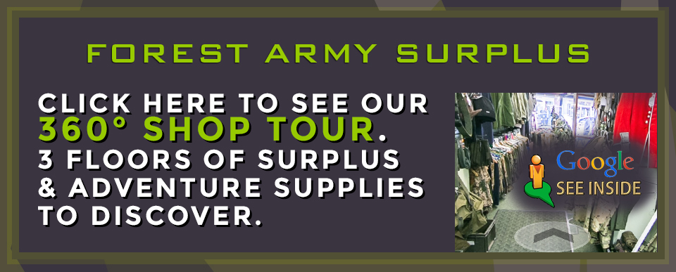 HOME - Forest Army Surplus - Military & Outdoors Clothing