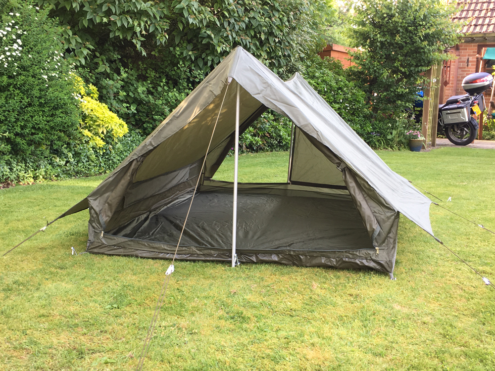 French Army Olive Green 2 Man Tent new - Forest Army ...